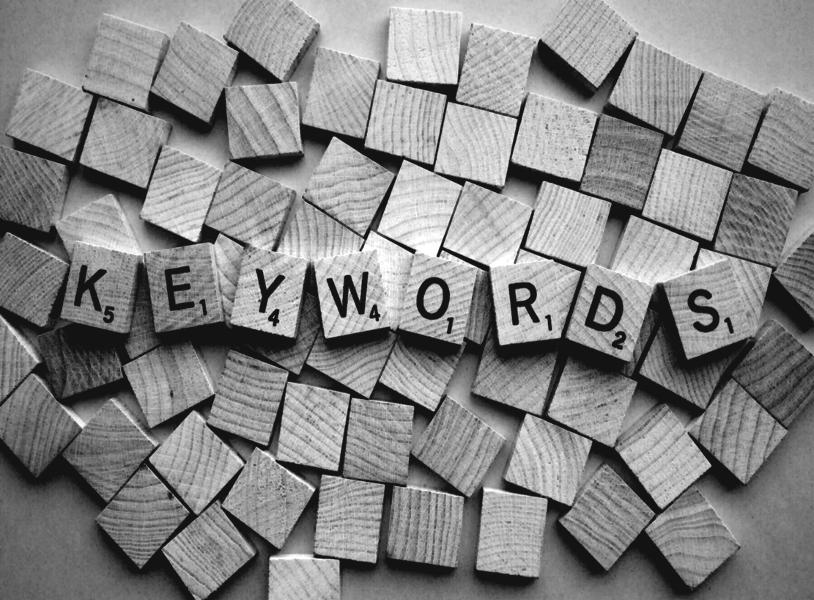 Blogbeitrag I Keywords Optionen